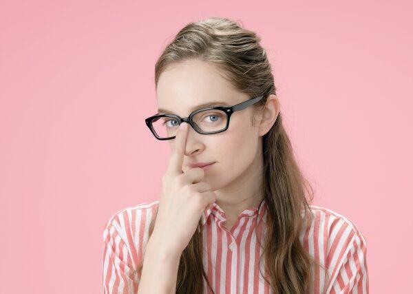 メガネ美人になるメイク法